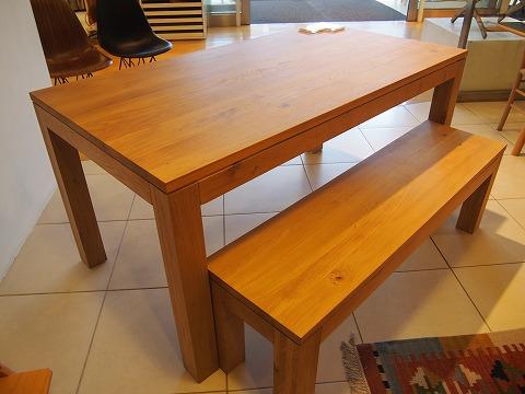 9.PURE ダイニングテーブル&ベンチ