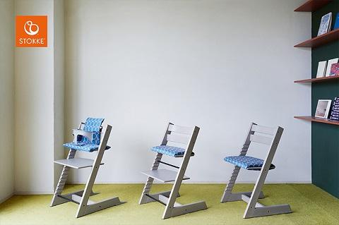 子ども椅子「ストッケ」新作クッションのご案内